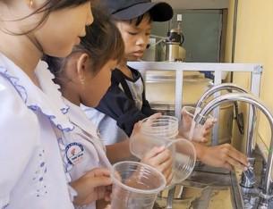 Hệ thống lọc nước trường học