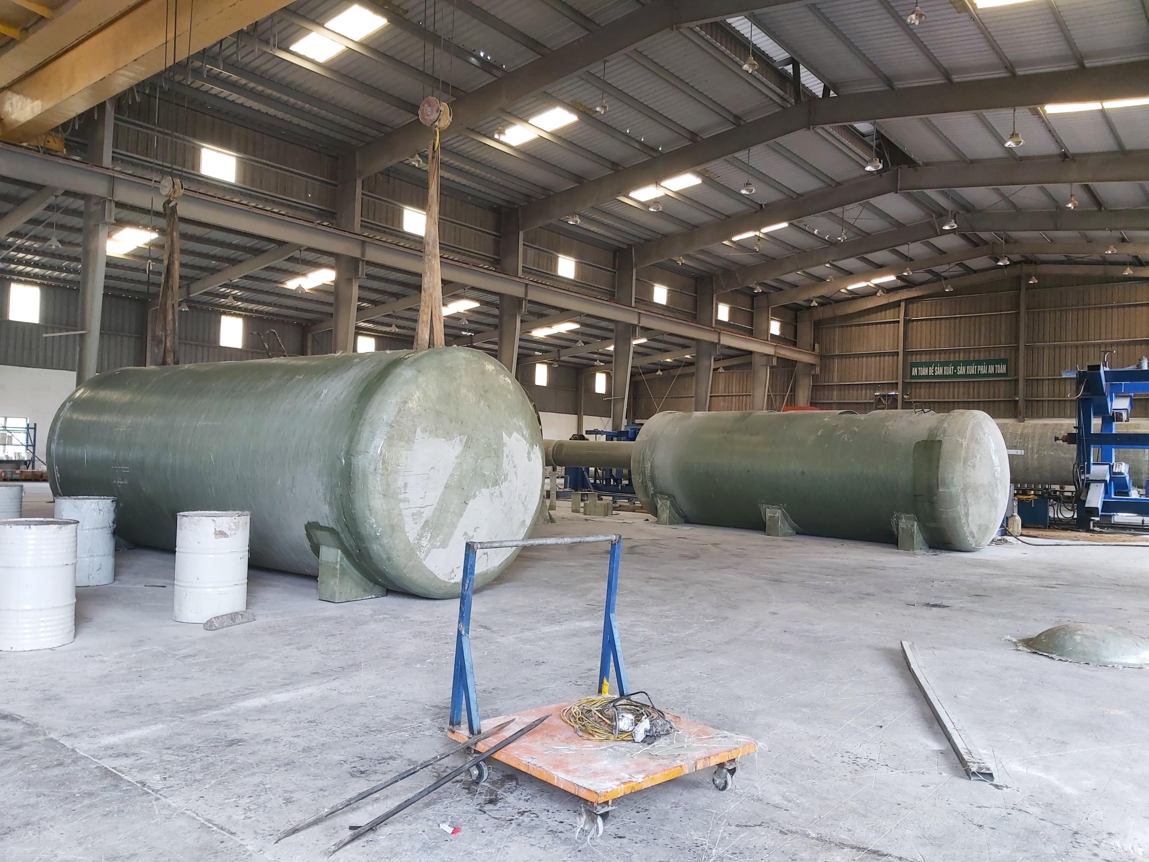 Module xử lý nước thải composite