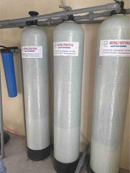 hệ thống lọc nước nhiễm cứng